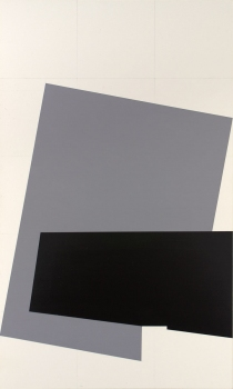 BART GULLEY Show: Black, White & Blue Oil and graphite on panel