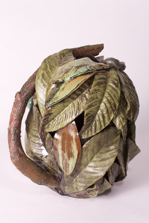 Ben Anderson Sculptural Ceramic glazed earthenware