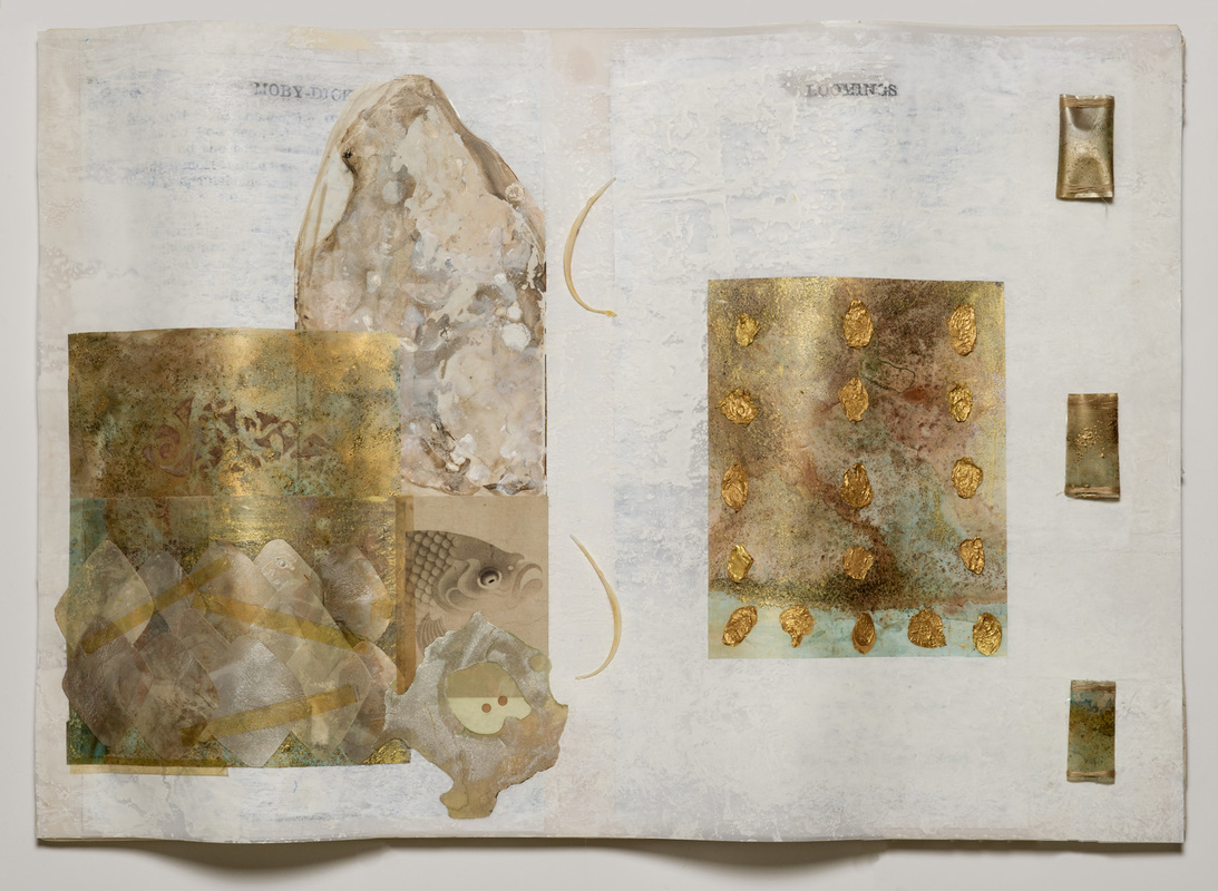 Beth Haber On Melville's Moby Dick Mixed Media on Mylar