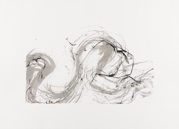 Betsy Eby 2012 Sumi Ink Studies  Sumi Ink on Paper