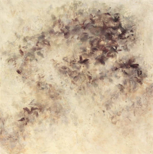 Betsy Eby 2011  Encaustic on Canvas on Panel