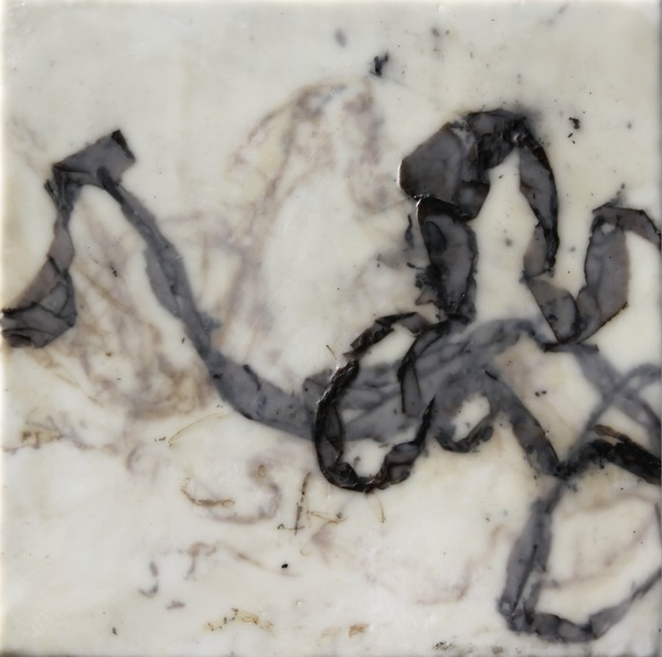 Betsy Eby 2010 Bagatelles Encaustic on Canvas on Panel