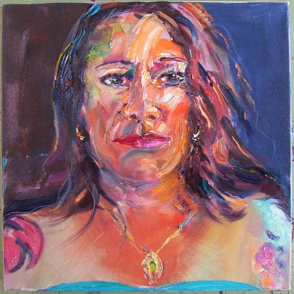 Monday Models and Figurative Works  Gina with Tatoos