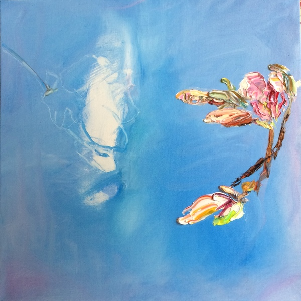 Big Sky Studio Works, and Plein Air Abstractions Magnolia VI ( Echo)