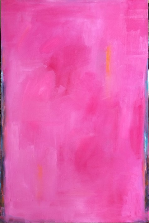 Big Sky Studio Works, and Plein Air Abstractions Pink Magnolia