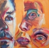 Monday Models and Figurative Works  oil on canvas