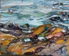 The Sea and Aggregate Abstractions oil on canvas