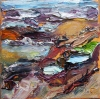 Aggregate Abstractions and The Sea oil on canvas