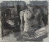 Bodyscapes charcoal on rag paper