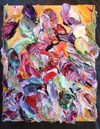 Garden of Delights / 3D Paintings impasto oil paint on canvas