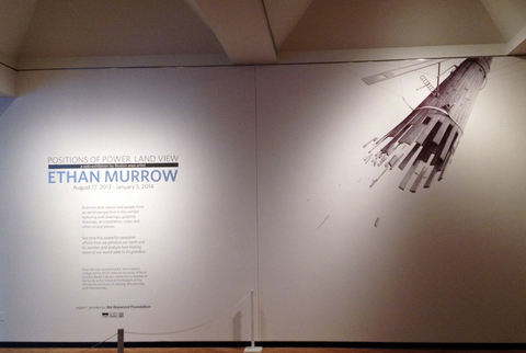 BIG PAPER AIRPLANE - ETHAN MURROW CLAY CENTER ballpoint on wall