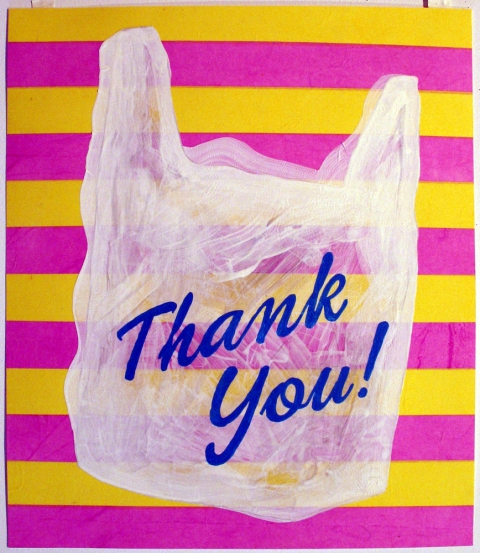 Bag Drawings Thank you Bag