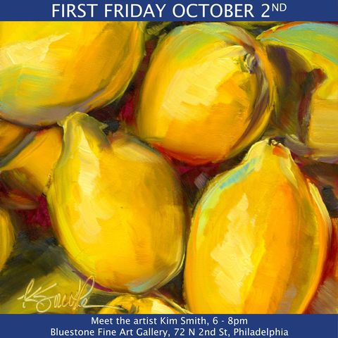 Bluestone Fine Art Gallery FIRST FRIDAY 2020
