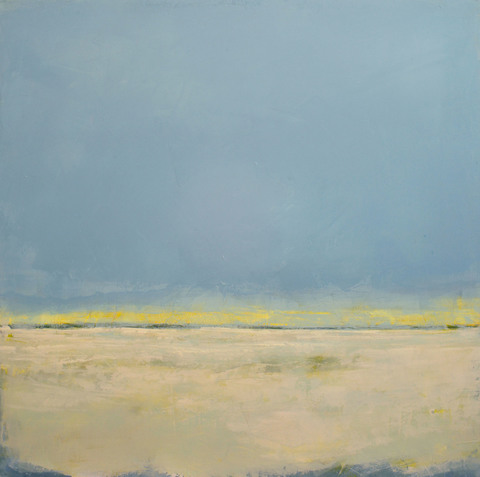 Bluestone Fine Art Gallery HAMPTONS VIRTUAL EXHIBITION Oil & Cold Wax, Framed