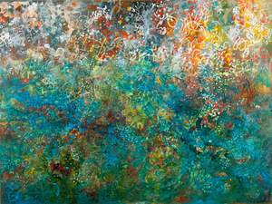 Bluestone Fine Art Gallery Deidre ADAMS Acrylic & Mixed Media