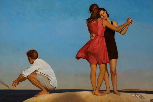 BO BARTLETT    FEMME Oil on Linen