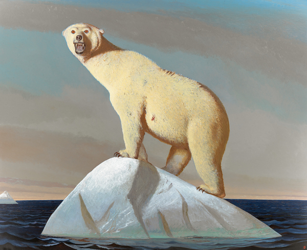 BO BARTLETT    LACUNAE oil on linen