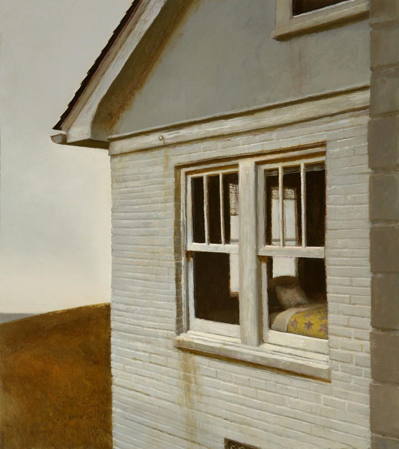 HOME My Childhood  2010 • Oil on Panel • 28 x 25