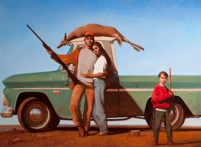 BO BARTLETT    Prints  Paper size: 35 x 46.75 inches