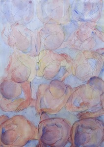 Bobby Vilinsky 2011 WORK Watercolor on paper