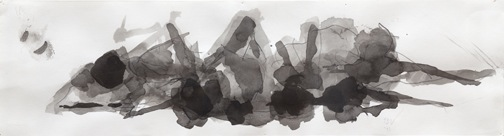 Bobby Vilinsky 2011 WORK brush and ink on paper