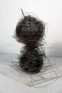 Bobby Vilinsky WIRE SCULPTURE