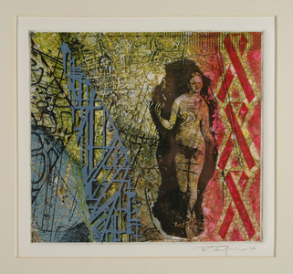 Bob Langnas Prints (General) etching, silk screen, collagraph, monotype, drypoint