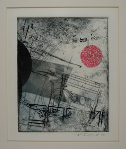 Bob Langnas Prints (General) etching and monotype