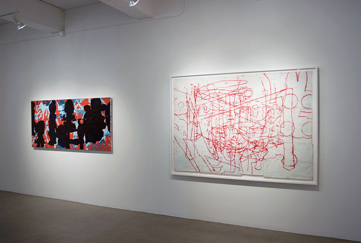 "Installation View: ""Bo Joseph: A Persistent Absence,"" Sears-Peyton Gallery, 2010"