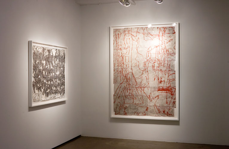 "Installation View: ""Bo Joseph: Fragments of a Worldview,"" Sears-Peyton Gallery, 2012"