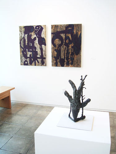 "Installation View: ""Become From Someplace Else,"" Froelick Gallery, 2008"