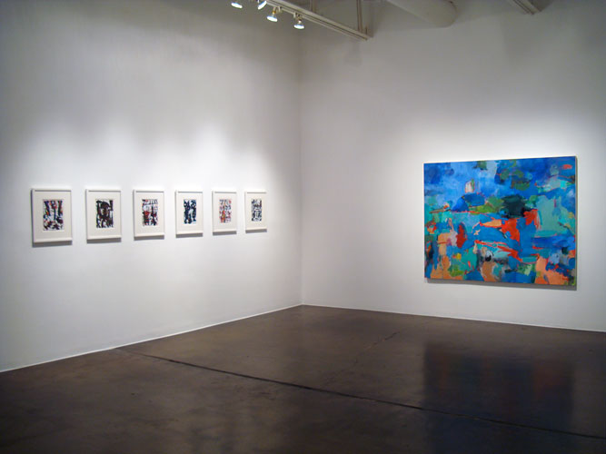 "Installation View: ""Berliner Geschichten,"" Barry Whistler Gallery, 2010"