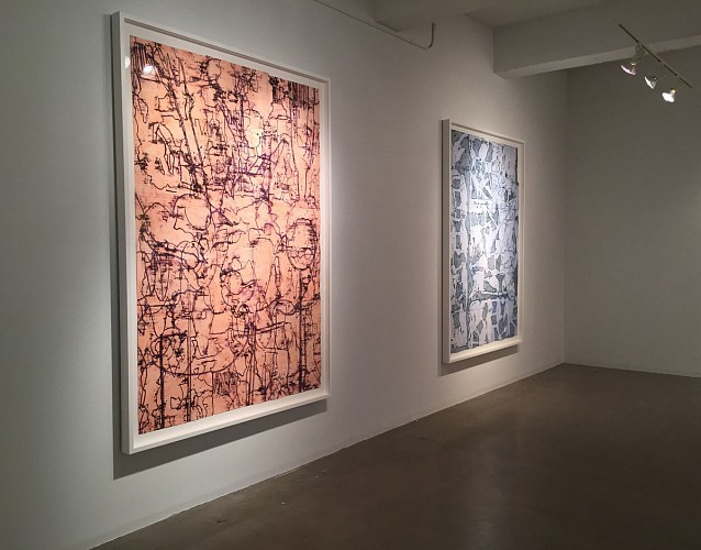 "Installation View: ""Bo Joseph: Hiding in Plain Sight,"" Sears-Peyton Gallery, 2015"