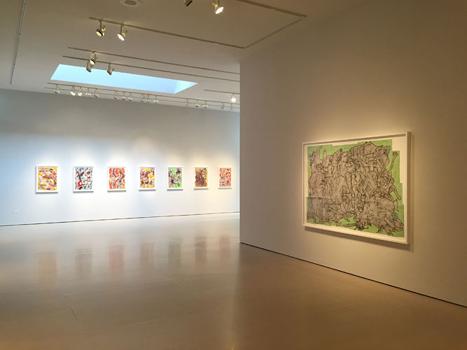 "Installation View: ""Bo Joseph: Souvenirs from Nowhere,"" McClain Gallery, 2015"