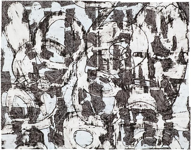 Works on Paper, 2011-2012 Visitation by Cryptic Signs