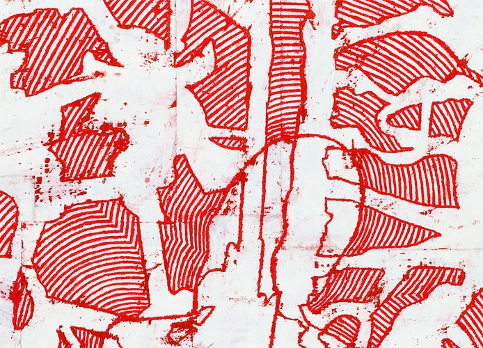 Works on Paper, 2011-2012 DETAIL: Where Fear and Fantasy Converge
