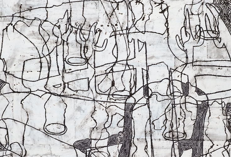 Works on Paper, 2011-2012 DETAIL: Delusions of a Patriarch