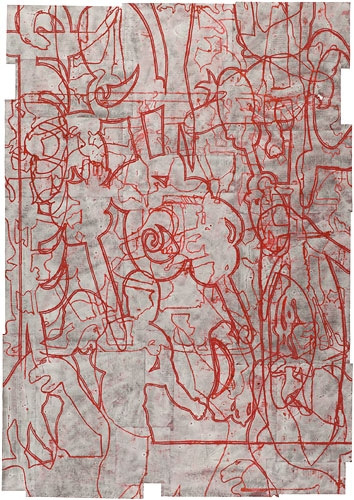 Works on Paper, 2011-2012 The Byproducts of Dark Work
