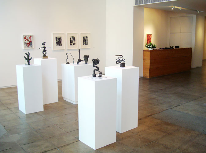 "Become From Someplace Else, 2008 Installation View: ""Become From Someplace Else,"" Froelick Gallery, 2008"