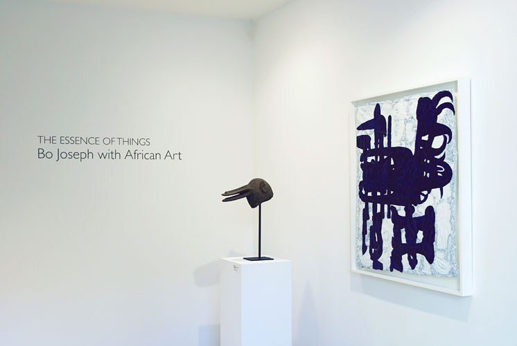"The Essence of Things: Bo Joseph with African Art, 2008 Installation View: ""The Essence of Things: Bo Joseph with African Art,"" Jason McCoy Inc., 2008"