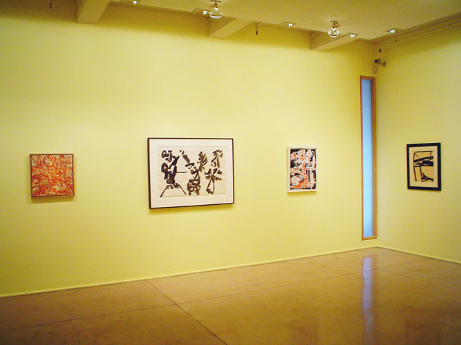 "Under the Influence, 2004 Installation View: ""Under the Influence,"" Barbara Mathes Gallery, 2004"