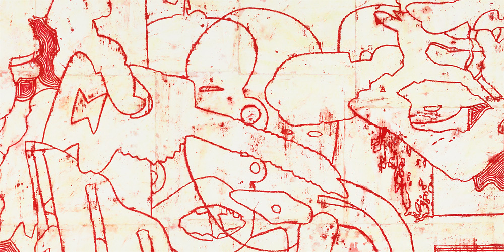 Works on Paper, 2015-2016 DETAIL: Disunified Theory: Hoarding Voids