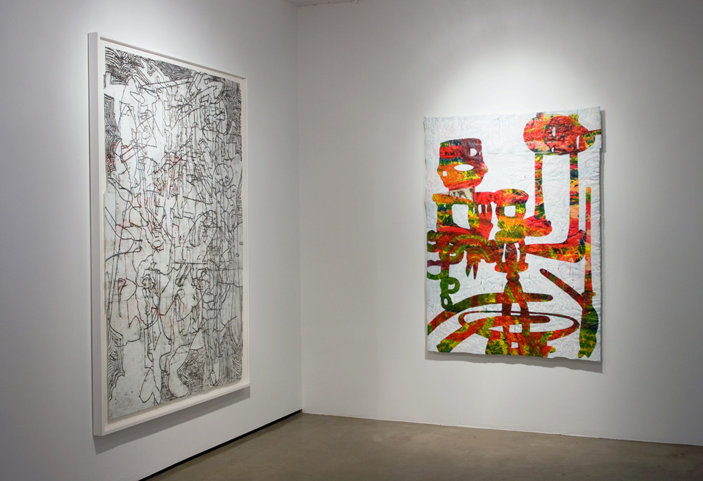 "Installation View: ""Bo Joseph: A Persistent Absence,"" Sears-Peyton Gallery, New York, 2010<br/>"