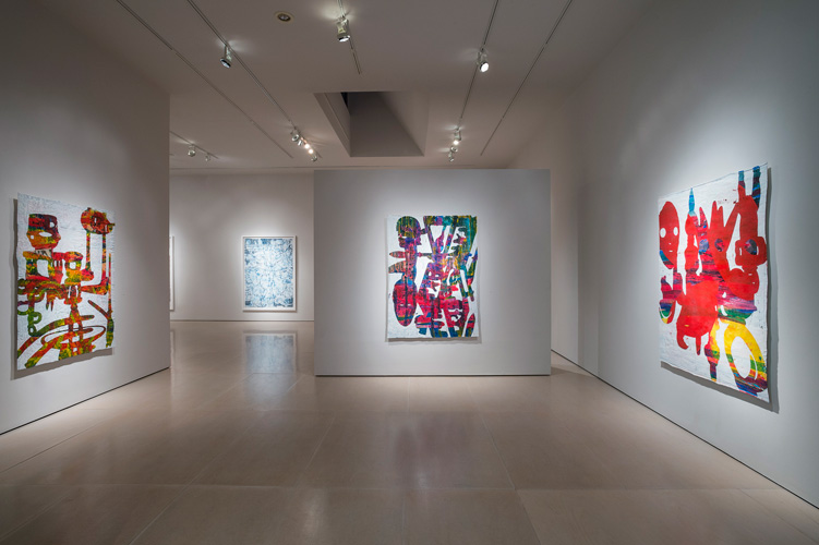 "Installation View: ""Bo Joseph: Empire of Spoils,"" May 12-June 23, 2012, McClain Gallery, Houston<br/>"