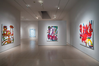 "Installation View: ""Bo Joseph: Empire of Spoils,"" May 12-June 23, 2012, McClain Gallery, Houston"
