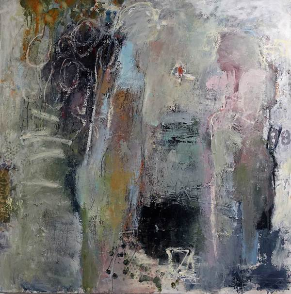 Bonney Goldstein Paintings mixed media canvas
