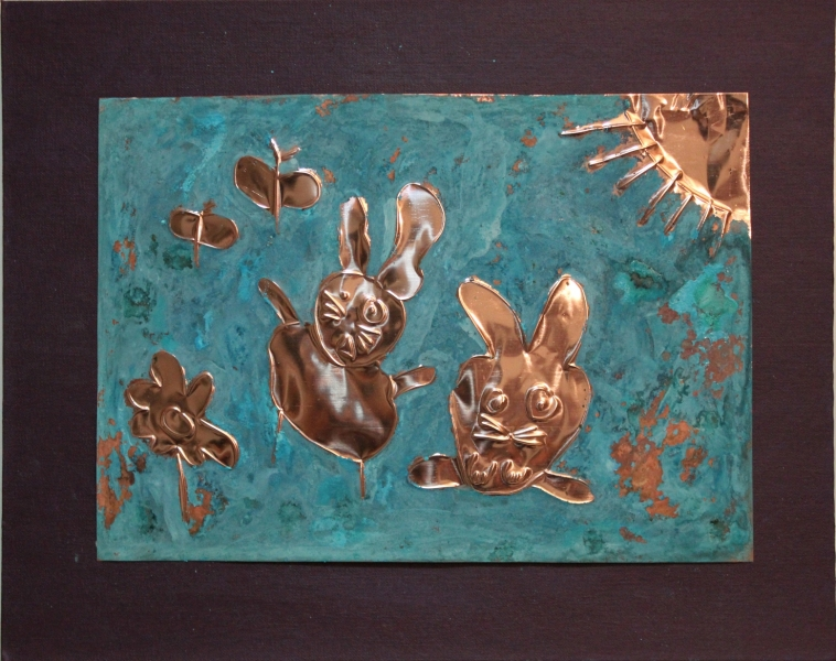 "HAPPY ART HISTORY!  ""BUNNIES""."