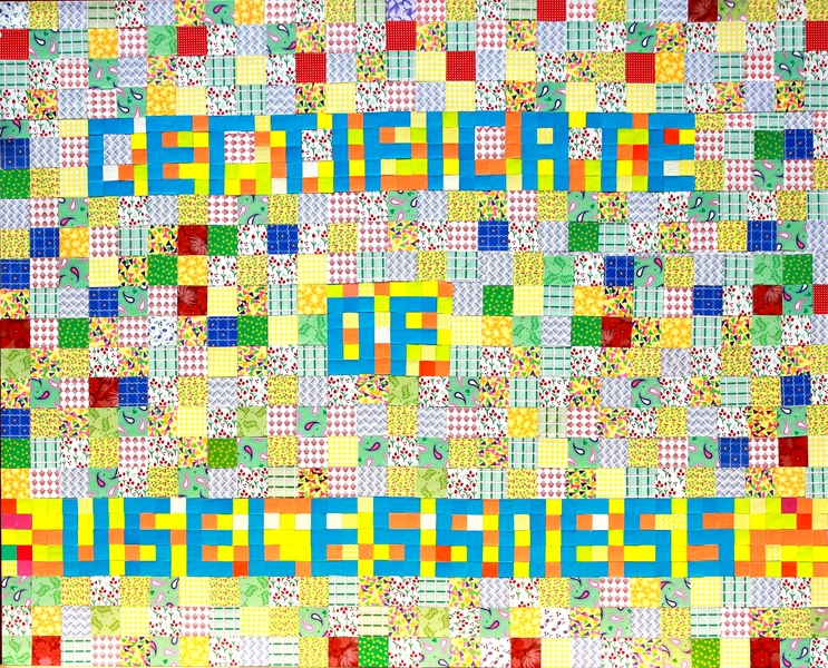 "I  SURVIVED INFORMATION "" CERTIFICATE OF USELESSNESS ""."