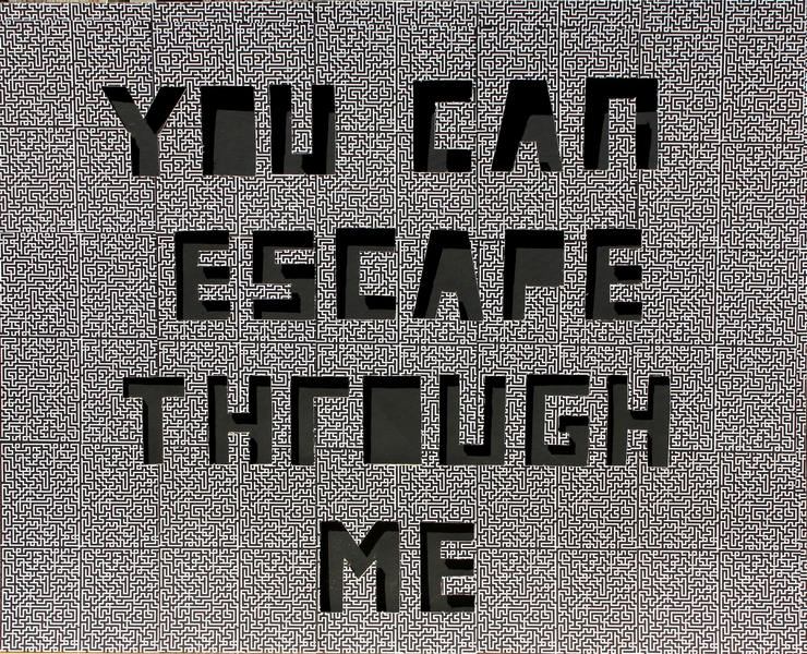 "I  SURVIVED INFORMATION "" YOU CAN ESCAPE THROUGH ME ""."