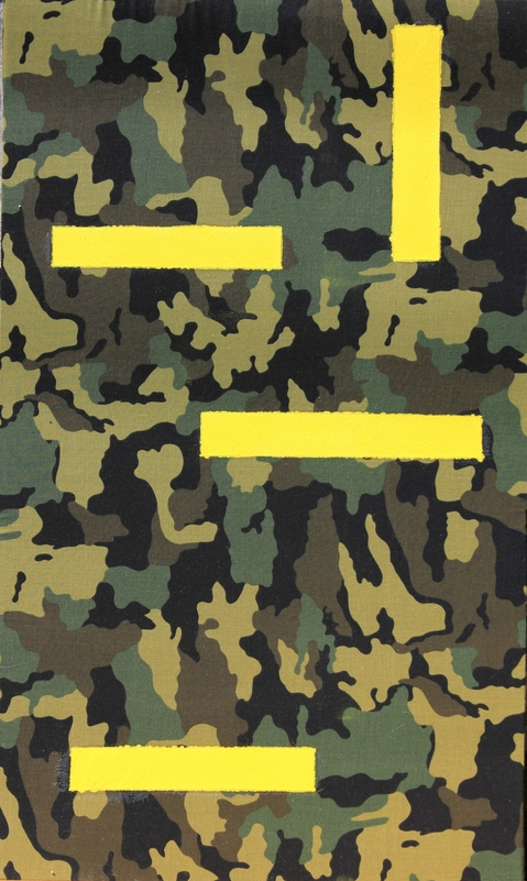 "I  SURVIVED INFORMATION "" HIGHLIGHTED CAMOUFLAGE # 1""."